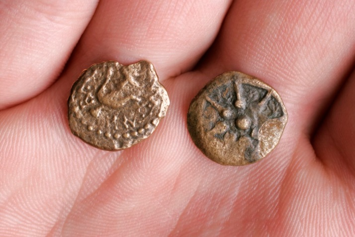 Ancient Roman Bronze Coins - The Widow's Mite